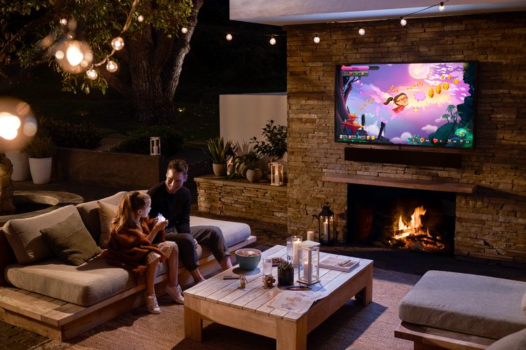 Samsung Launches Weatherproof 'The Terrace' TV and Soundbar for Outdoors Spaces