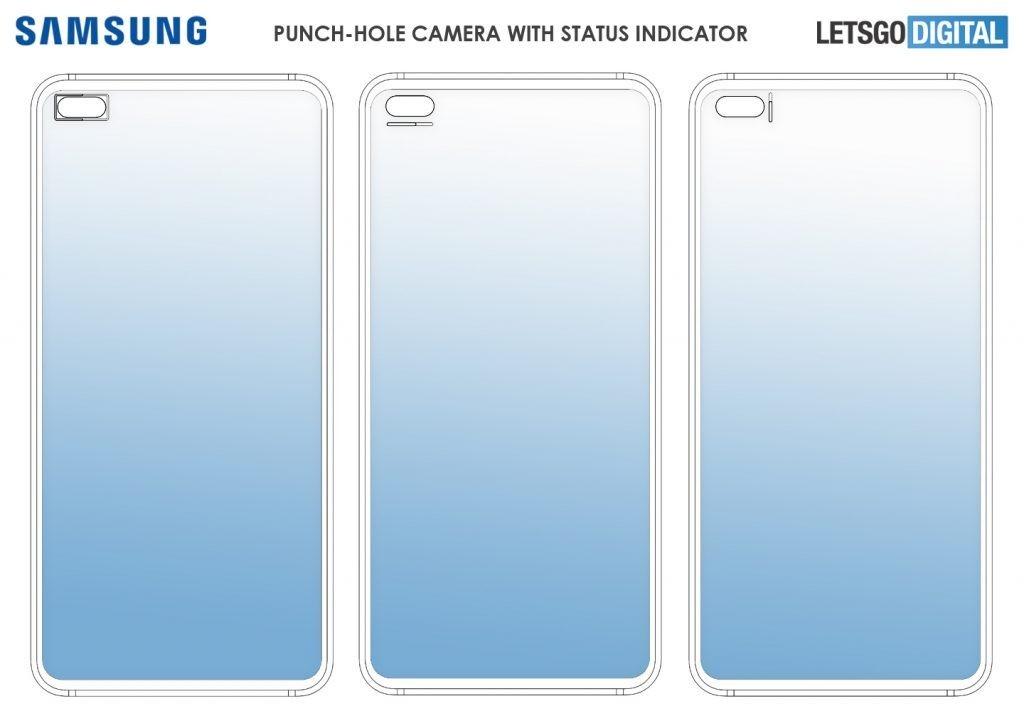 Samsung may bring back LED indicators around punch-hole cameras, shows patent