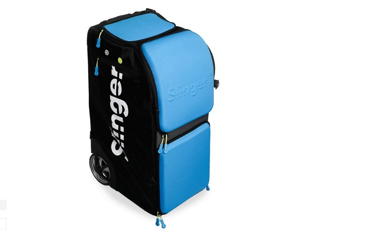 Slinger Bag Is A Portable Suitcase That S Also A Tennis Ball Thrower Enter21st Com