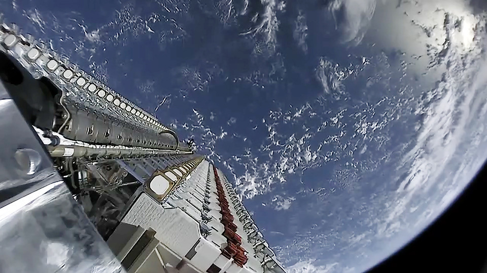 SpaceX's internet service will go live in around six months