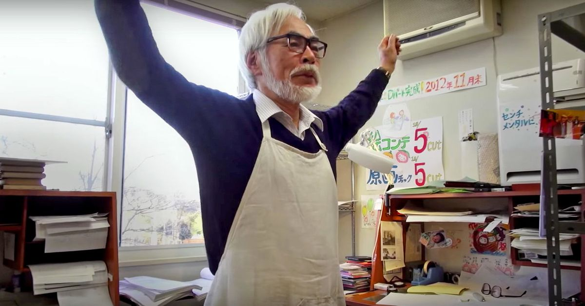 The Hayao Miyazaki 'Anime was a mistake' meme, explained