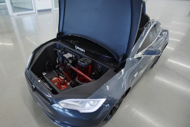 This Tesla Model S for Kids Comes with a Custom Gaming PC Built In