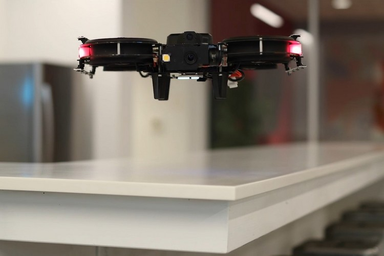 This is the First Indoor Drone That Can Disinfect Large Areas