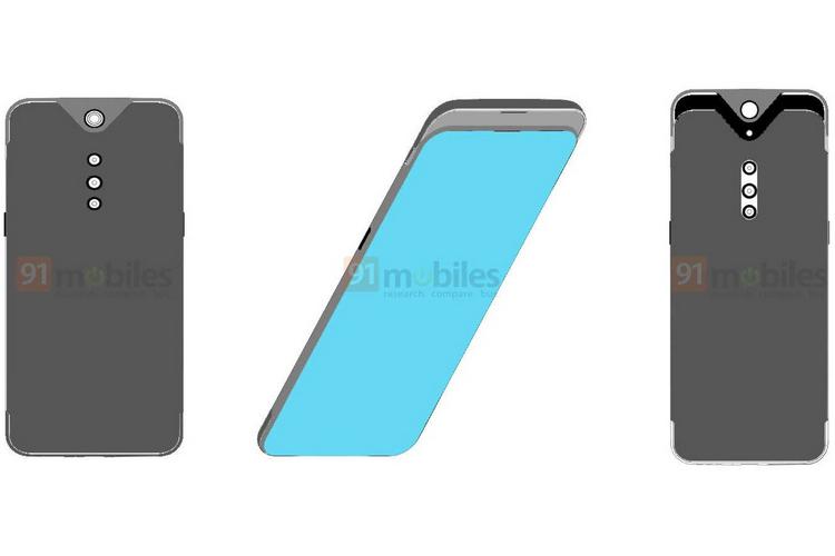 Vivo's New Patent Shows a Smartphone with a Sliding Camera Design