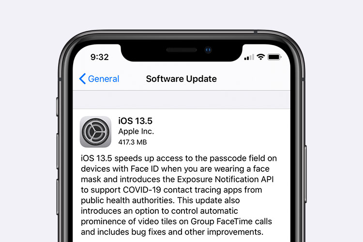 iOS 13.5 Released with Exposure Notification API and More
