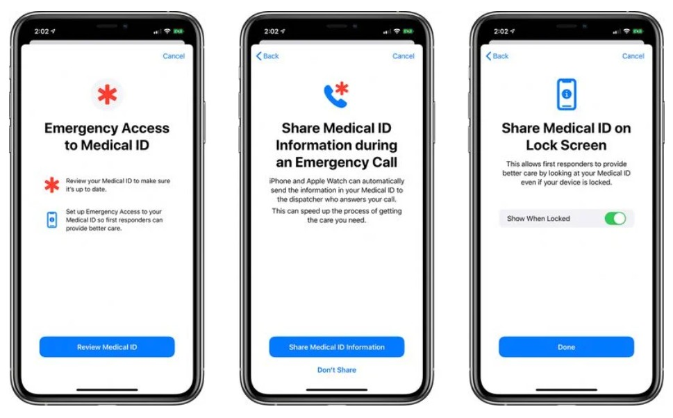 iPhone to automatically share Medical ID with first emergency call responders in iOS 13.5