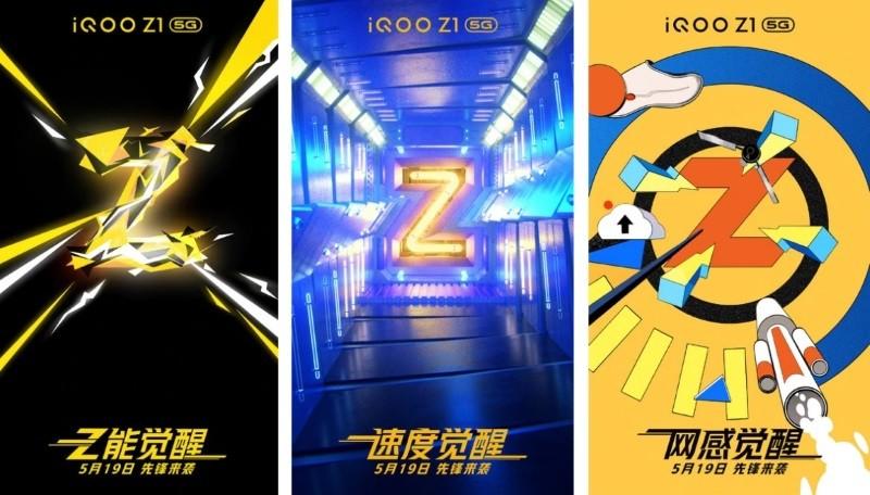 iQOO Z1 with MediaTek Dimensity 1000+ 5G coming May 19