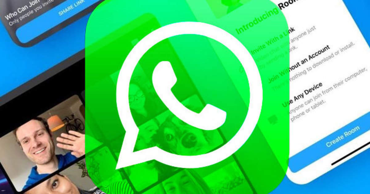 whatsapp new feature: new shortcut on whatsapp, video calling with 50 people at once - whatsapp is rolling out messenger rooms shortcut for beta users, messenger rooms now globally available