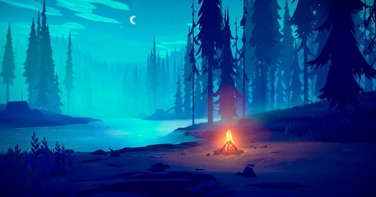 Among Trees is a survival game with a chill vibe, out now on the Epic Games Store