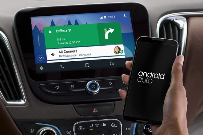 Android Auto gets new Material Theme icons in Google Maps navigation