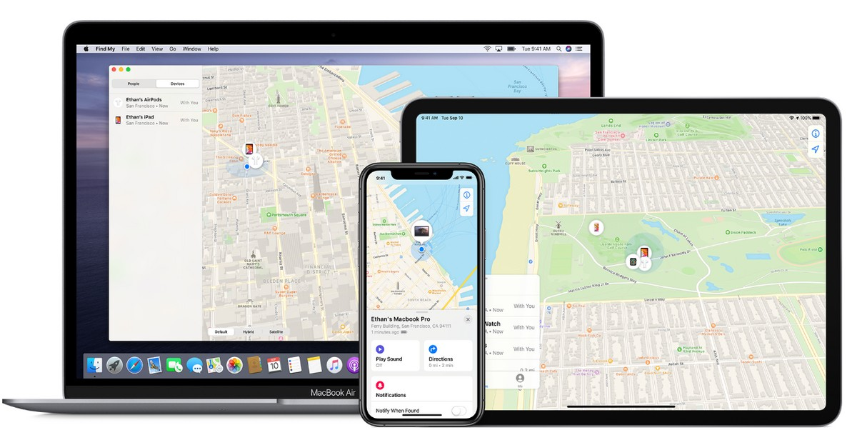Apple Find My app now also supports Tile-like lost gadget trackers