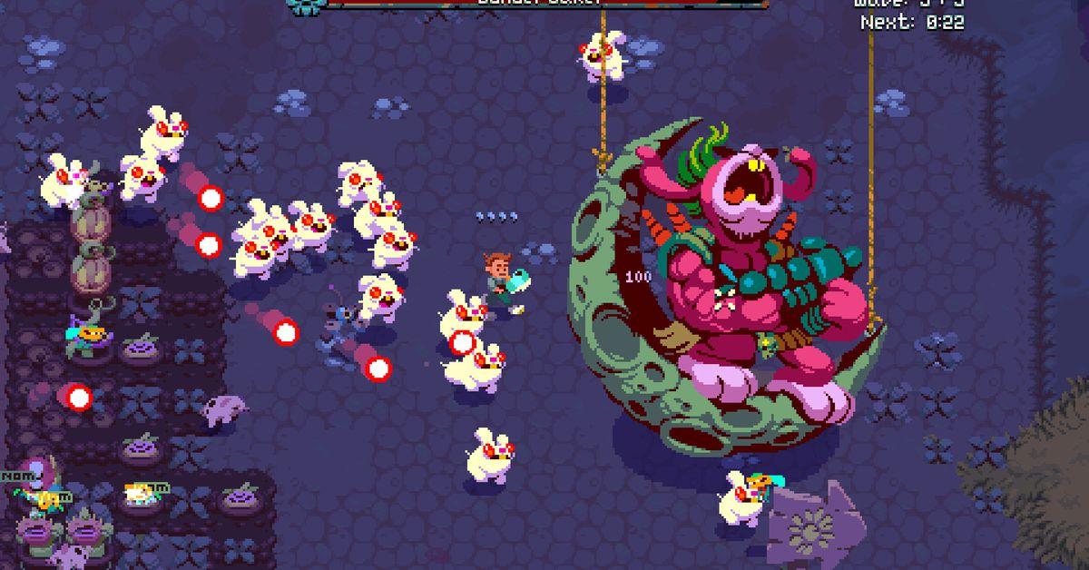Atomicrops review: The bullet-hell Stardew Valley you didn't know you wanted