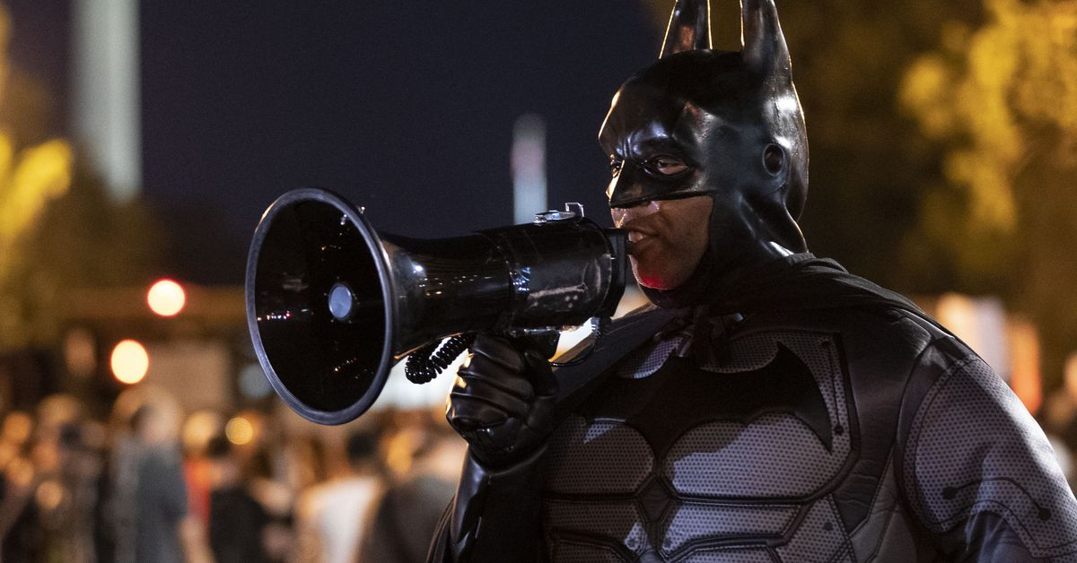 Batman, Punisher and Joker found a way into Black Lives Matter protests