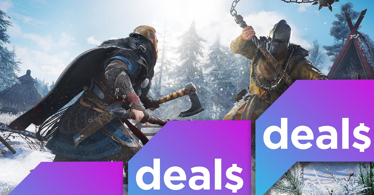 Best gaming deals: PS4 games, refurb 4K TVs, Assassin's Creed Valhalla