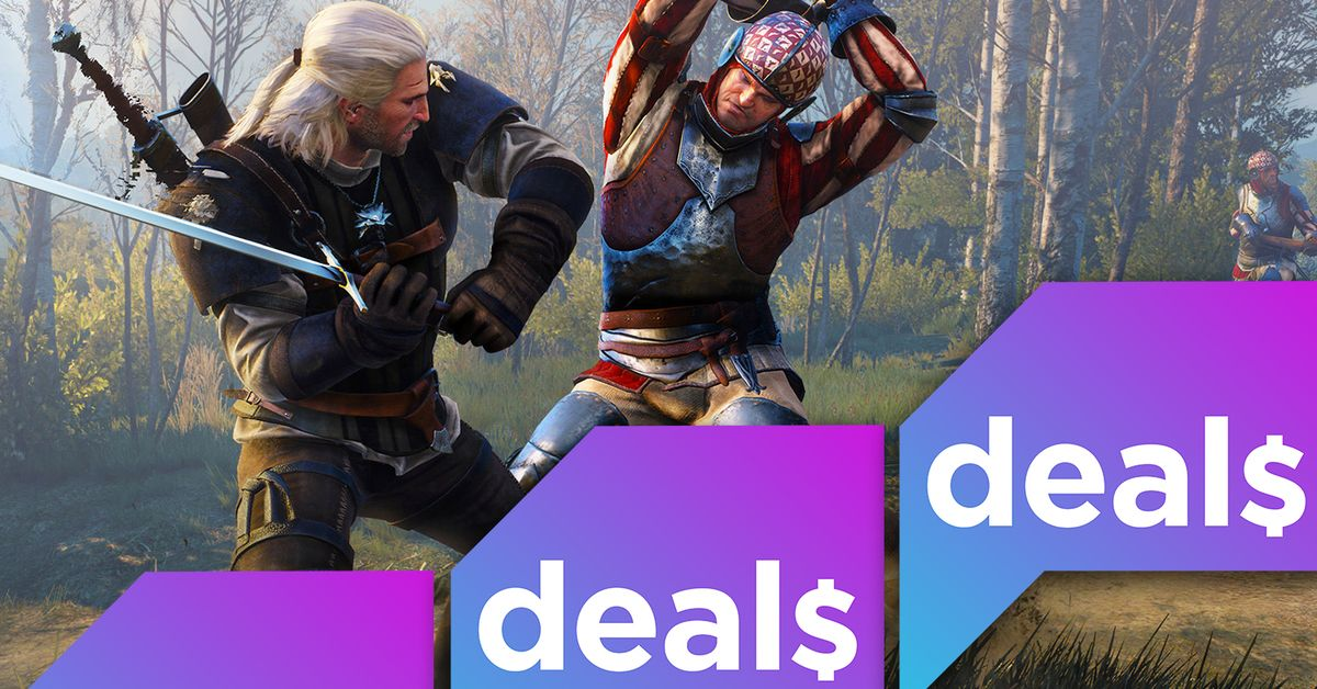 Best gaming deals: The Witcher 3, The Avengers, Amazon's buy-2-get-1-free sale