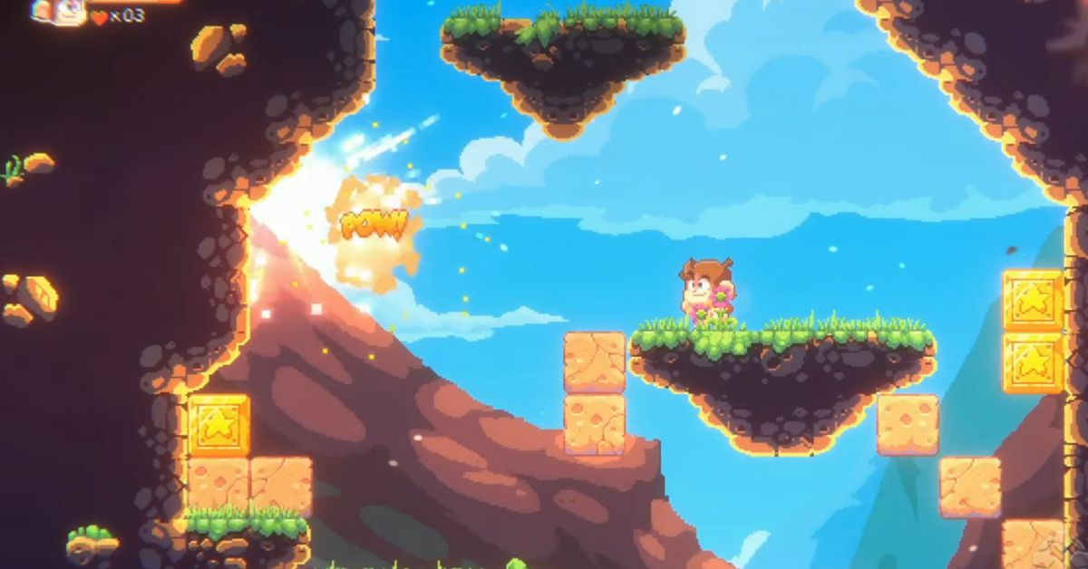 Former Sega mascot Alex Kidd gets a new look in upcoming remake