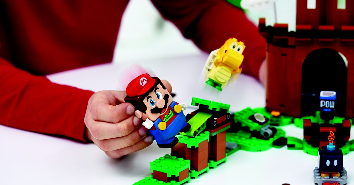 Full Super Mario Lego line and pricing revealed by Nintendo