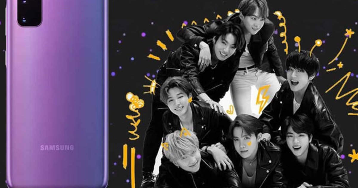 Galaxy S20 + BTS Edition Sale: Samsung Galaxy S20 + BTS edition record, all phones sold in 1 hour - samsung galaxy s20 + bts edition and galaxy buds + bts edition sold out only in one hour