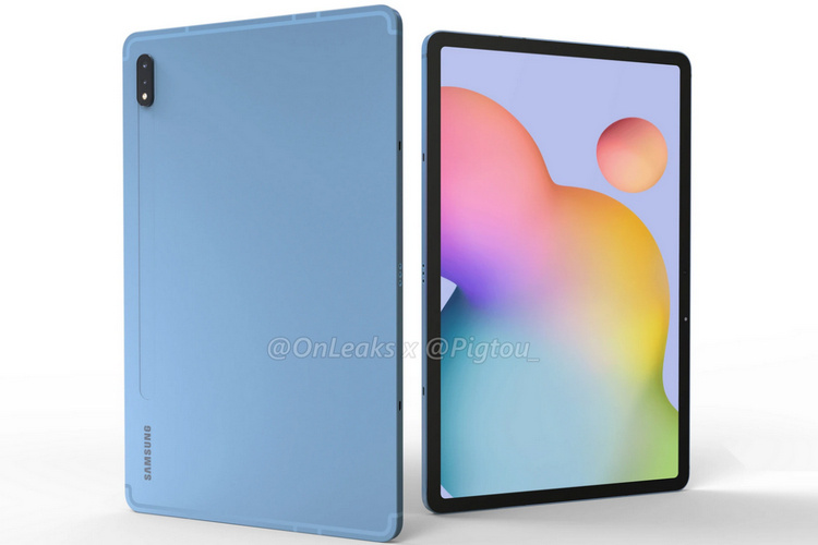 Galaxy Tab S7 Renders Show Off Samsung's Upcoming iPad Pro Rival