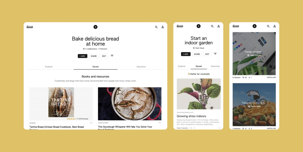 Google Keen aims to curate topics using machine learning for a keen searcher in you