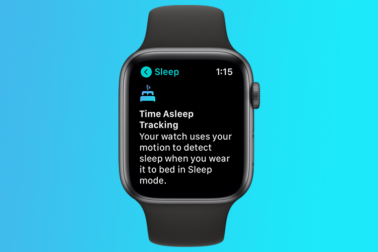 Here's How to Enable Sleep Detection in watchOS 7