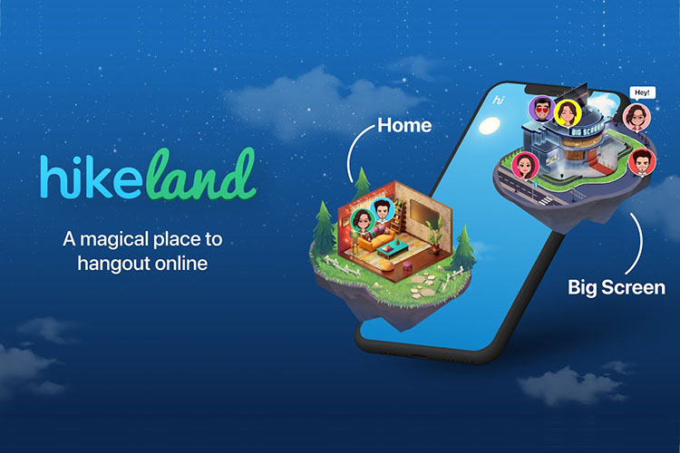 Hike Launches 'HikeLand' Where You Can Hang Out With Friends Virtually