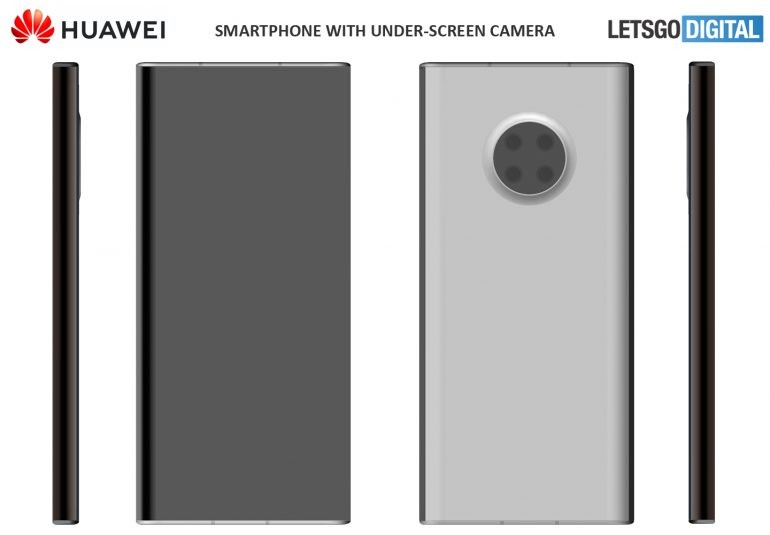 Huawei's under-screen camera phone may have surfaced in patents
