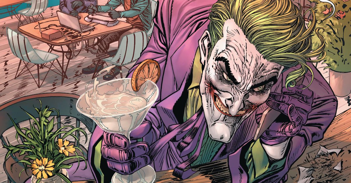 In DC Comics' Batman #93, the Joker stole all of Batman's money