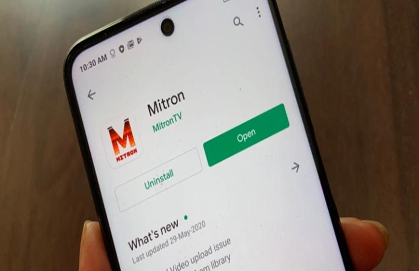 Mitron app download available again on google play store, TikTok Clone mitron back with updated privacy policy - Mitron App's new look 'Return to Google Play Store', is it safe to download?