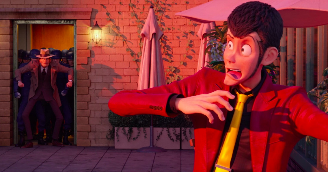 New footage from the first CG Lupin III movie lives up to the series