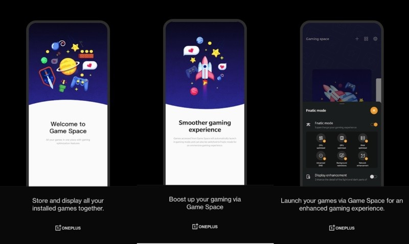 OnePlus Game Space update allows addition of hidden games