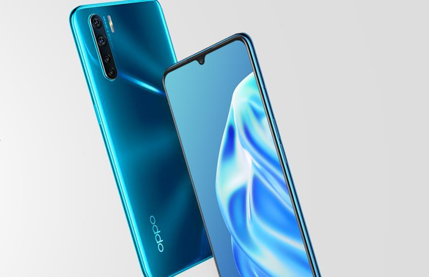Oppo F15 Blazing Blue, flipkart, amazon, oppo mobile, oppo phone, best phones under 20000, oppo all mobile, oppo f15 price in india