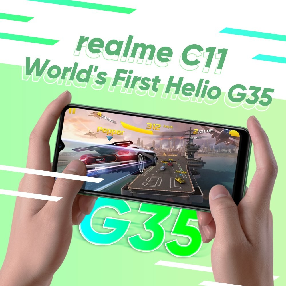 Realme C11 with Helio G35 processor releasing June 30