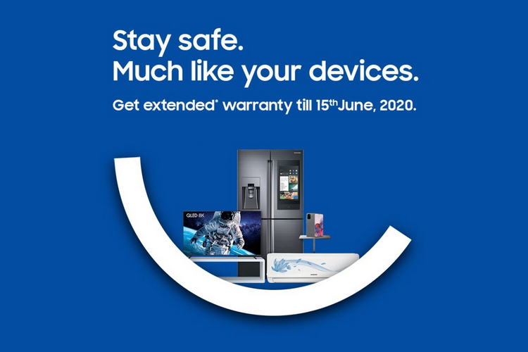 Samsung Extends Warranty on All Products Until June 15 Due to Coronavirus Lockdown