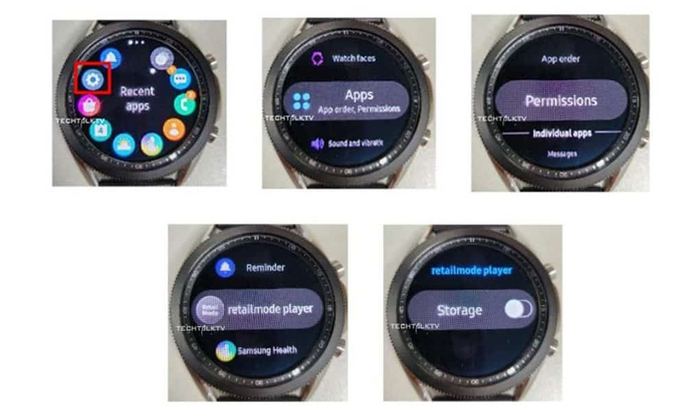 Samsung Galaxy Watch 3 live images may have surfaced for the first time