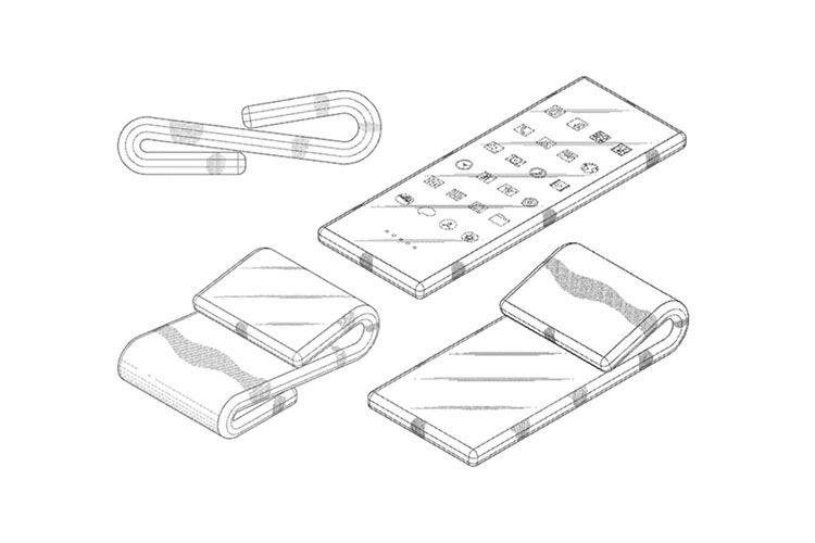 Samsung Patents Dual-Folding Smartphone Design