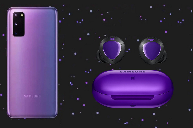 Samsung to Launch Galaxy S20+ BTS Edition in Mirror Purple on July 9