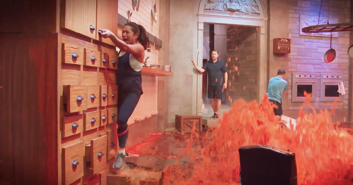 Sign me up for Netflix's Floor is Lava show so I can live out my teenage dreams