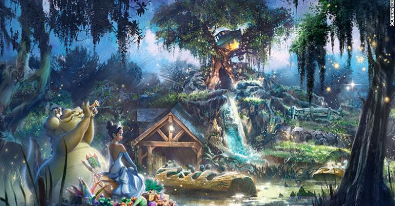 Splash Mountain reboot will have a Princess and the Frog theme