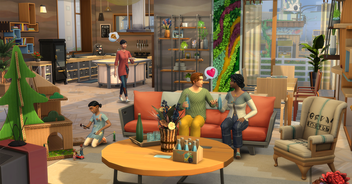 The Sims 4's Eco Lifestyle expansion made my entire city horny