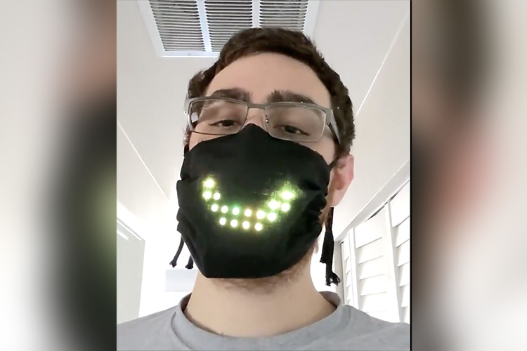 This Programmer Made a Mask that Shows Face Movements When You Speak