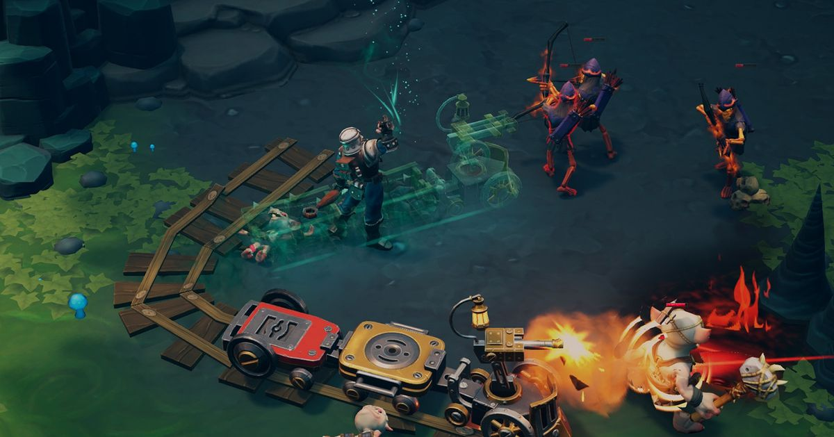 Torchlight 3's Railmaster class has to be seen to be believed