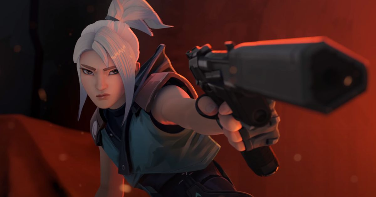 Valorant's first cinematic trailer is a battle between Phoenix and Jett