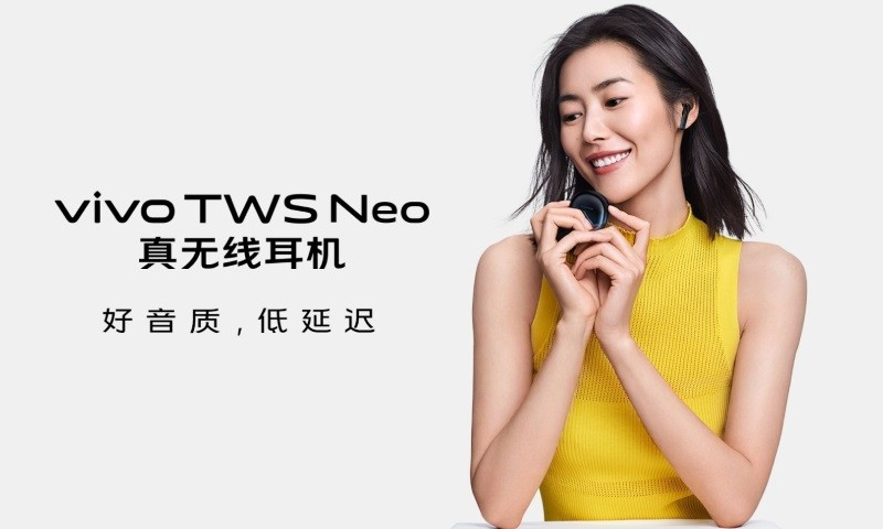 Vivo TWS Neo wireless earbuds with aptX unveiled in China