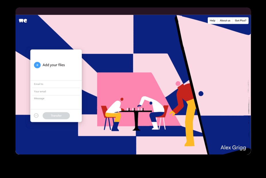 WeTransfer file transfer service is inaccessible for some in India
