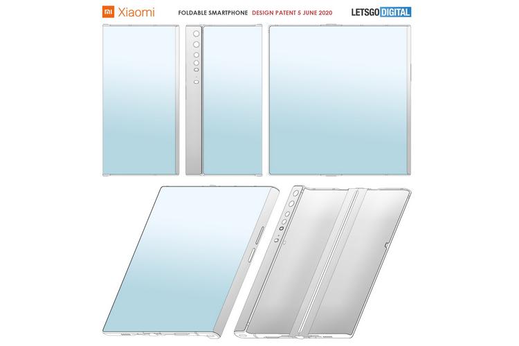 Xiaomi Patents Folding Smartphone That Looks Like the Huawei Mate Xs