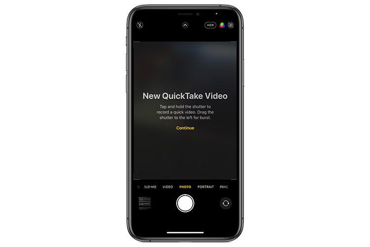 iOS 14 Brings iPhone 11's Quick Take Feature to Older iPhones