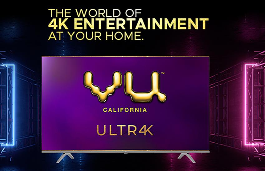 vu 4k ultra hd tv, vu latest tv, vu ultra 4k tv price, amazon sale, vu ultra smart tv, vu tv launch, Android TV - Vu 4K Ultra HD TV: 4 new smart tv launches in India, you will get many features , Learn Price