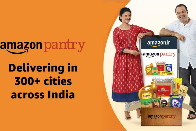 Amazon Expands 'Amazon Pantry' to over 300 Cities in India