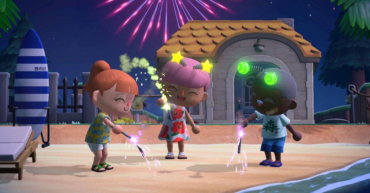 Animal Crossing: New Horizon update adds tripping, luck system possible